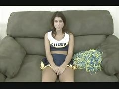 Teen cheerleader learns about...