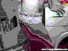 Young Libertines - Bathroom fuck...