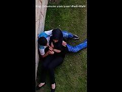 Arab teen hijab hidden cam