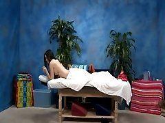 Raunchy massage movie scene