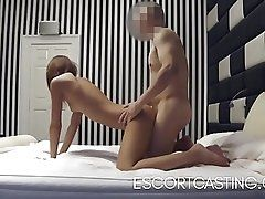 Skinny Teen Caught Escorting On...