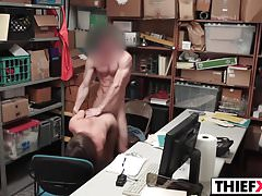Sweety Thief Gets Dicked Hard