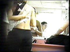 College Dancer Dressing room 3